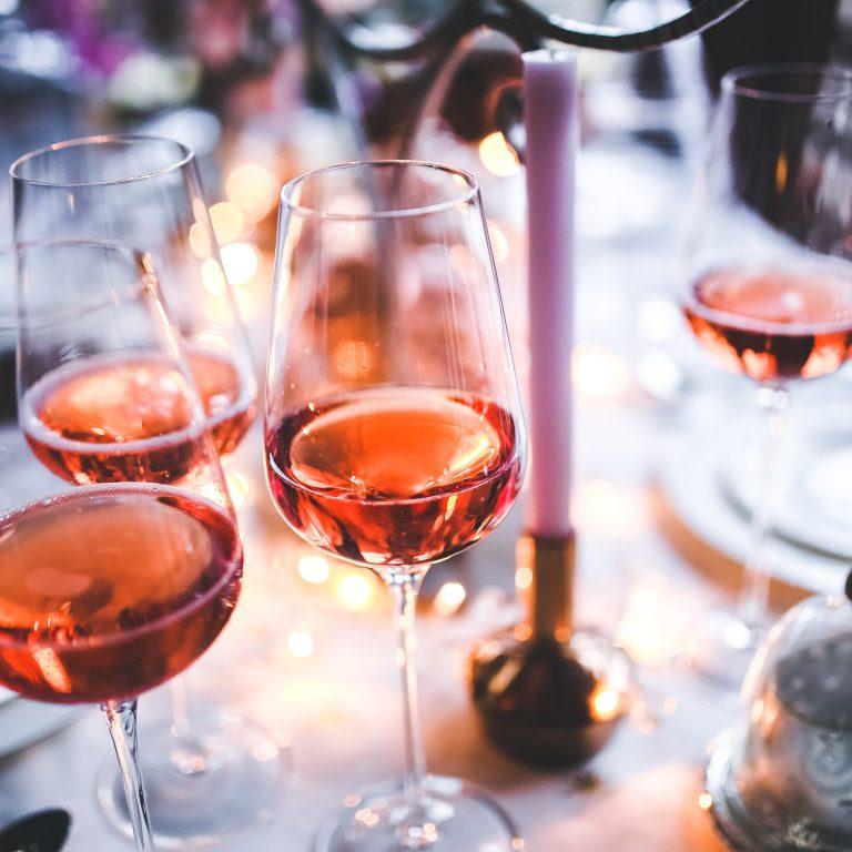 rose-wijn